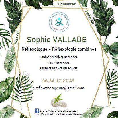 logo SOphie VALLADE salon bien etre plaisance du touch